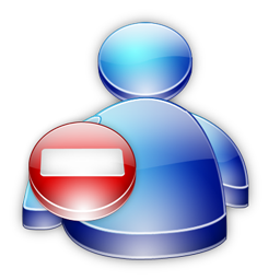 Msn Buddy Busy icon