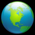 O ícone de Globo 2