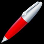 O ícone de caneta 2