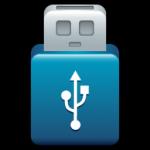O ícone de USB