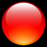 Aqua Ball Vermelho Ícone