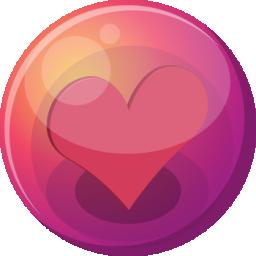 Coracao Cor De Rosa 1 Icone Ico Png Icns Icones Download