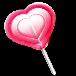 Amor Coracao Pirulito Icon Ico Png Icns Icones Download