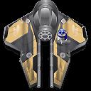 Obi Wan starfighter icon