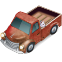 Truck with Dog icon