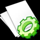documents white exec icon