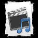 Movie Music File icon